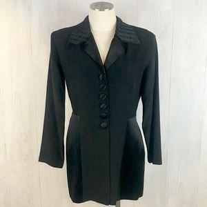 [Vintage] boss lady tuxedo jacket Sz. M